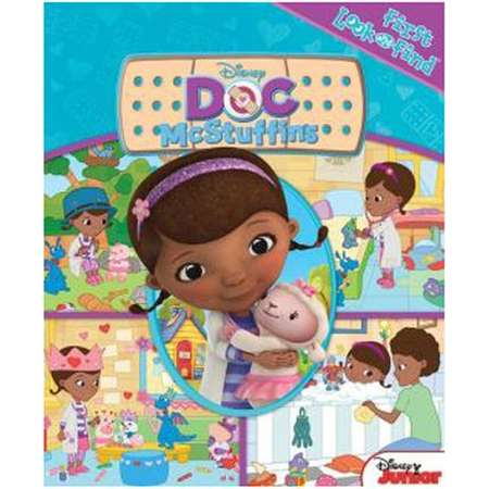 Disney Junior Doc McStuffins First Look and Find Book thumb