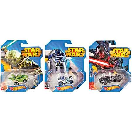 Hot Wheels Star Wars 1/64 Character Assorted Cars thumb