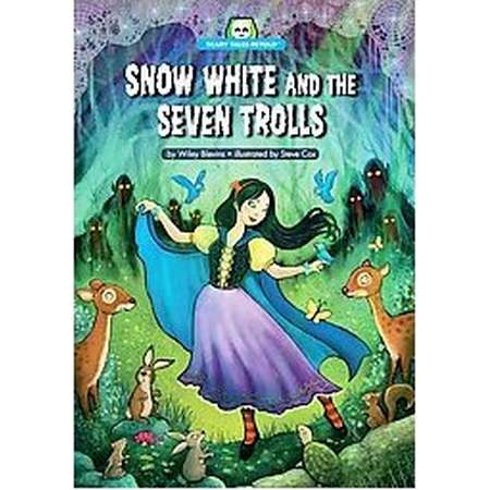 Snow White and the Seven Trolls (Library) (Wiley Blevins) thumb