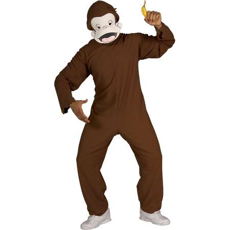 Men's Curious George Standard Costume One Size Fits Most thumb