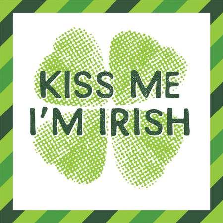 Kiss Me I'm Irish Cocktail Beverage Napkin - 16 Pack thumb