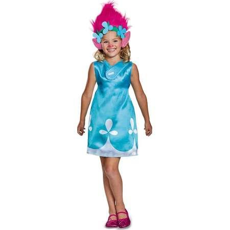 Girls' Trolls Poppy Classic Costume with Headband 3T-4T thumb