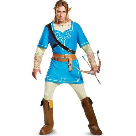 Adult The Legend of Zelda: Link Breath Of The Wild Deluxe Costume thumb