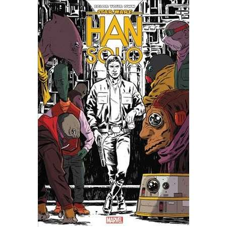 Star Wars : Han Solo -  (Star Wars) by Marjorie Liu & Jason Aaron (Hardcover) thumb