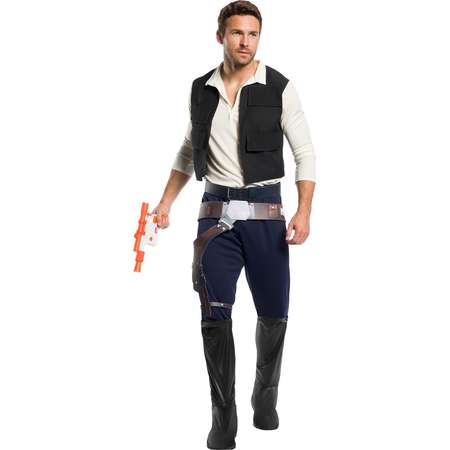 Star Wars Men's Classic Han Solo Halloween Costume thumb