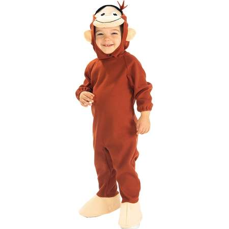 Toddler Curious George Costume - One Size Fits Most thumb