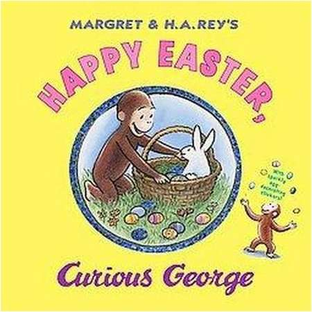 Happy Easter, Curious George (Hardcover) by H. A. Rey thumb