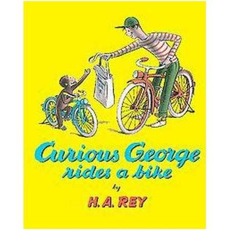 Curious George Rides a Bike ( Sandpiper Books) (Paperback) by H. A. Rey thumb