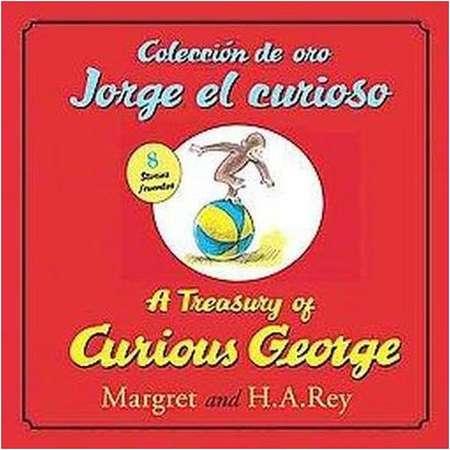 Coleccion de oro Jorge el curioso / A Treasury of Curious George (Bilingual) (School And Library) (H. A. thumb