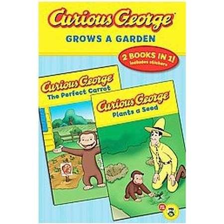 Curious George Grows a Garden (Original) (Paperback) thumb