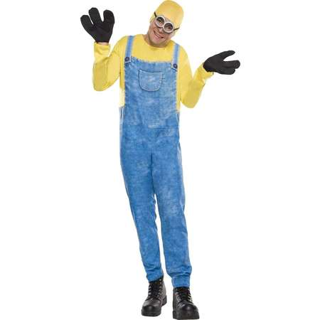Minions Movie Men's Bob Costume One Size Fits Most thumb