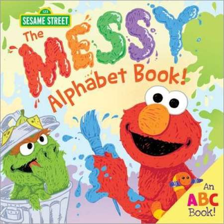 Messy Alphabet Book! -  (123 Sesame Street) by Erin Guendelsberger (Hardcover) thumb
