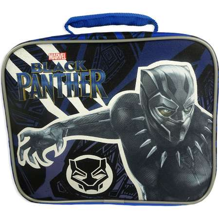 Black Panther Lunch Bag - Black thumb