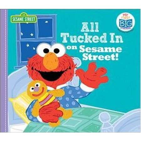 All Tucked in on Sesame Street! -  (My First Big Story Book) (Hardcover) thumb