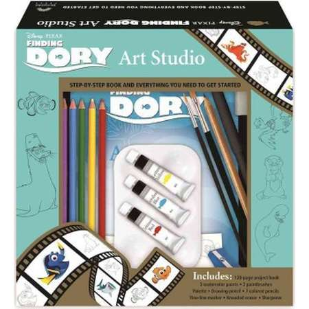 Finding Dory Art Studio : Step-by-step Book and Everything You Need to Get Started (Paperback) thumb