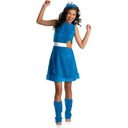 Girls' Sesame Street  Cookie Monster Costume thumb