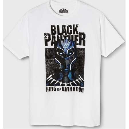 Men's Marvel Black Panther Wakanda Short Sleeve T-Shirt - White thumb