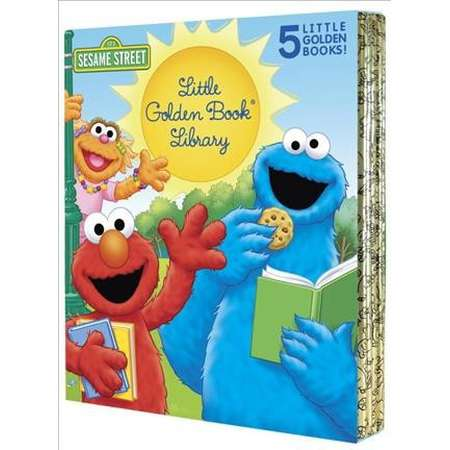 Sesame Street Little Golden Book Library -  by Sarah Albee & Constance Allen (Hardcover) thumb