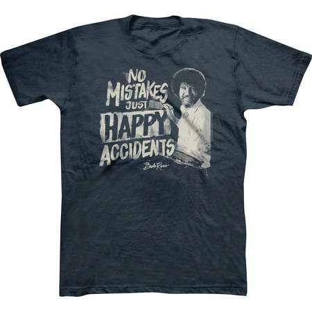 Men's Bob Ross® T-Shirt - Navy Heather thumb