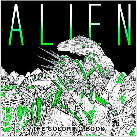 Alien: The Coloring Book thumb