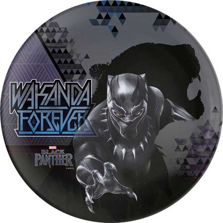 Marvel Comics Melamine Dinner Plates - Black Panther thumb