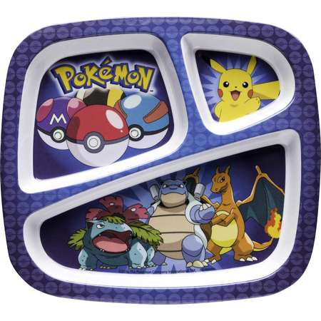 Pokemon Divided Plate - Pikachu thumb