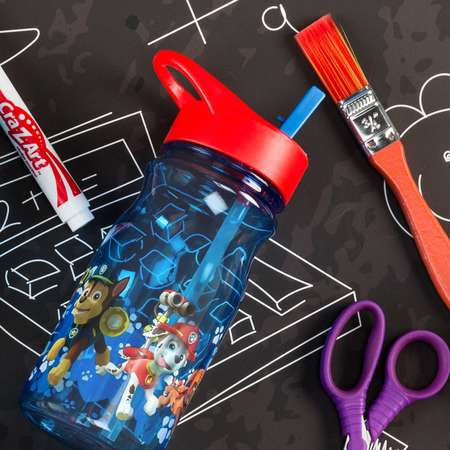Paw Patrol Water Bottle with Straw thumb