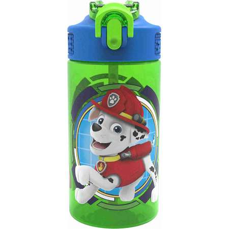 Paw Patrol Water Bottle with Straw - Skye, Marshall & Friends thumb