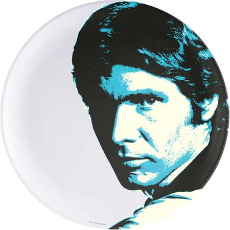 Star Wars Melamine Dinner Plates - Han Solo thumb