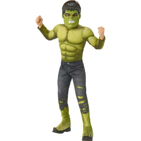 Marvel - Avengers: Infinity War - Deluxe Incredible Hulk - Costume for Boys thumb