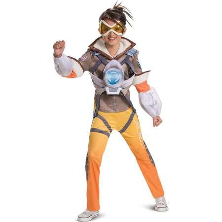 3dfe836c2c6 Overwatch Tracer Deluxe Child Costume thumb