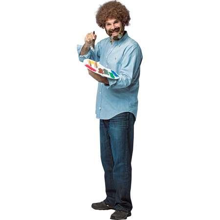 Bob Ross Adult Costume Kit thumb