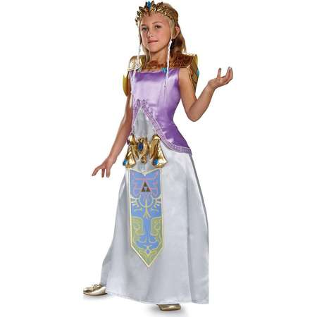Legend of Zelda Princess Zelda Deluxe Girl's Costume thumb