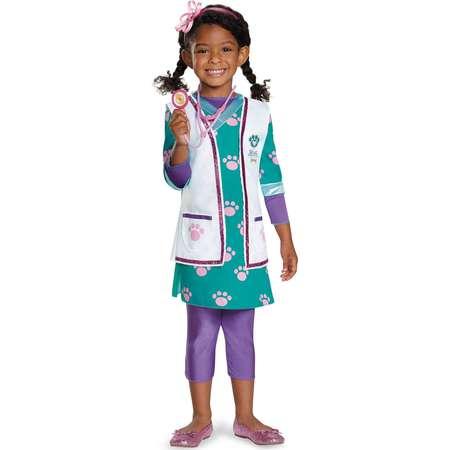 Doc McStuffins Girls Deluxe Pet Vet Costume thumb