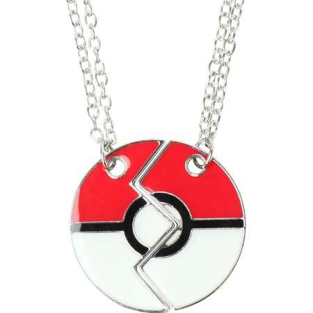 Pokemon Poke Ball Best Friends Necklace Set thumb