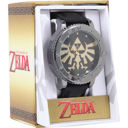 The Legend Of Zelda Triforce Rubber Strap Watch thumb