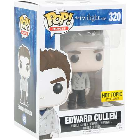 Funko The Twilight Saga Pop! Movies Edward Cullen (Sparkle) Vinyl Figure Hot Topic Exclusive thumb