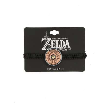 The Legend Of Zelda: Breath Of The Wild Traveler's Shield Cord Bracelet thumb