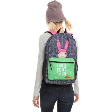 Bob's Burgers Louise Belcher I Smell Fear On You Backpack thumb