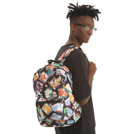 Pokemon Pokedex Print Backpack thumb