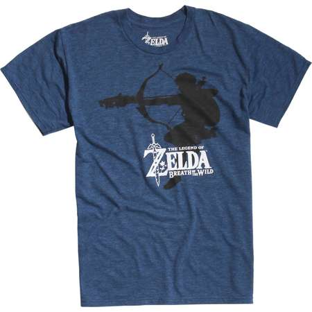 The Legend Of Zelda: Breath Of The Wild Link Silhouette T-Shirt thumb