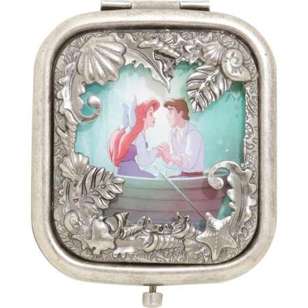 Disney The Little Mermaid Kiss The Girl Square Die-Cut Compact Mirror thumb