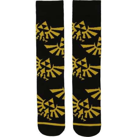 The Legend Of Zelda Hylian Crest Crew Socks thumb