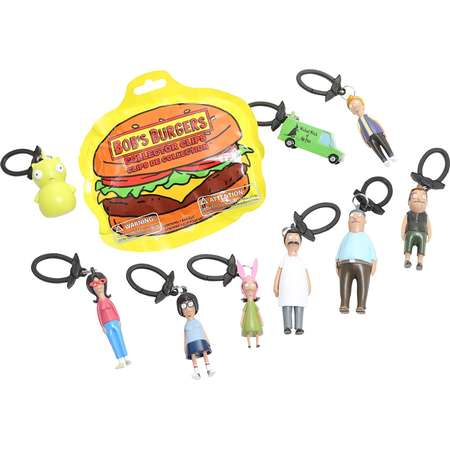 Bob's Burgers Series 1 Backpack Hangers Blind Bag Clip-On Figure thumb