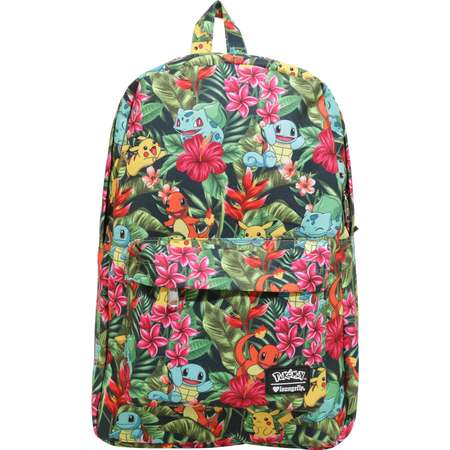 Loungefly Pokemon Starters Tropical Backpack thumb