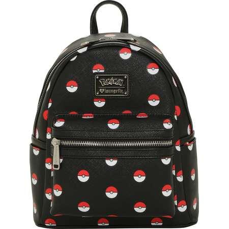 Loungefly Pokemon Poke Ball Mini Backpack thumb