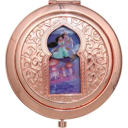 Disney Aladdin Magic Carpet Rose Gold Die-Cut Compact Mirror thumb