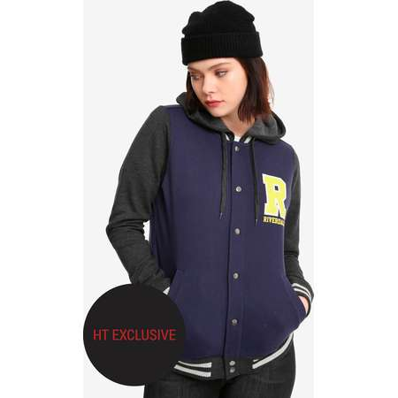 Riverdale Girls Varsity Jacket Hot Topic Exclusive thumb