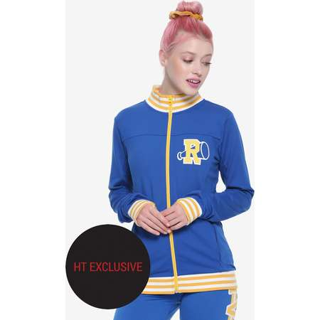 Riverdale Girls Varsity Track Jacket Hot Topic Exclusive thumb