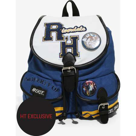 Riverdale Varsity Slouch Backpack Hot Topic Exclusive thumb